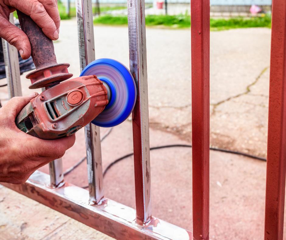 fencing repair aluminum